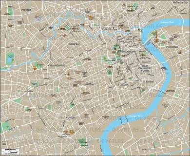 map shanghai
